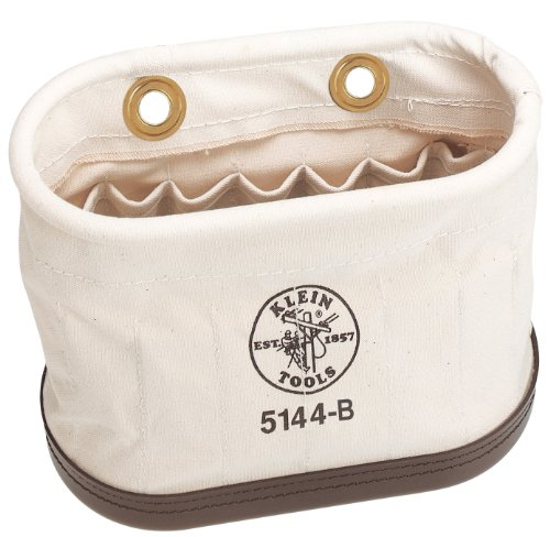 Klein Tools 5144B Aerial-Basket Oval Bucket with 15 Interior Pockets (Oval Basket Market)