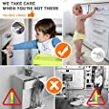 Cabinet Lock Child Safety Baby Proofing Kit-[12-Pack / 3 In 1]-8 Kids Drawer Locks, 2 Proof Cabinets Safety Latches Locks, 2 Sliding Lock, Easy Adhesive, No Tools Needed for Drawers, Cabinets, Closets
