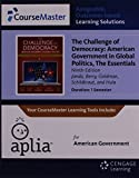 img - for ApliaTM, 1 term Printed Access Card for Janda's The Challenge of Democracy Essentials: American Government in Global Politics, 9th book / textbook / text book