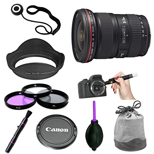 Canon EF 16-35mm f/2.8L ll USM Zoom Lens for Canon EF Camera