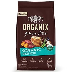 Castor & Pollux Organix Grain Free Organic Senior Recipe Dry Dog Food,  10 lb