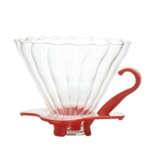 COKFEB Filtro de café V60 Vaso Resistente al Calor Cafetera ...