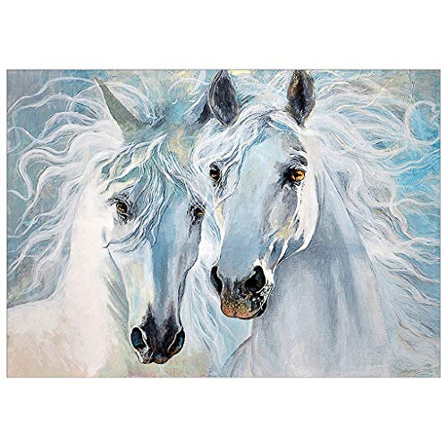 BeautyShe DIY 5D Diamond Painting by Number Kit for Adult, Full Drill Diamond Embroidery Dotz Kit Home Wall Decor-11.8 x 15 inch -