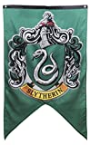 Harry Potter Hogwarts House Wall Banners: Gryffindor, Slytherin, Hufflepuff and Ravenclaw; Harry Potter Hogwarts House Flags