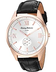 Tommy Bahama Mens Quartz Stainless Steel and Leather Casual Watch, Color:Brown (Model: TB00015-07)