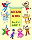 Sticker Books For Kids Ages 4-8: Blank Permanent Sticker Book