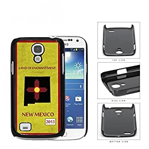 New Mexico State Tag Grunge Scrapes Hard Plastic Snap On Cell Phone Case Samsung Galaxy S4 SIV Mini I9190