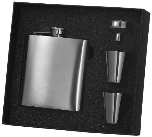 Stainless Steel Classic Hip Flask (Visol