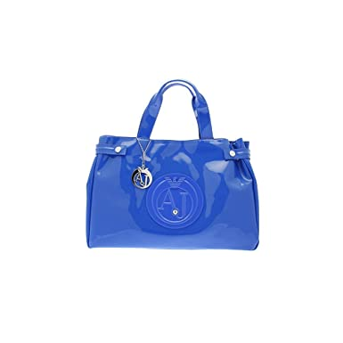 02f7119303ee Amazon.com  Armani Jeans Patent Crystal East West Tote