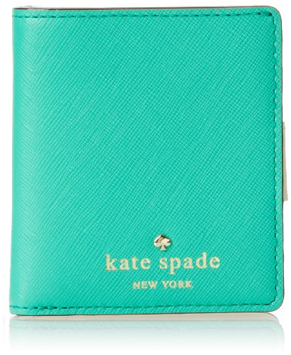 kate spade new york Cherry Lane Small Stacy Wallet,Bright Beryl,One Size