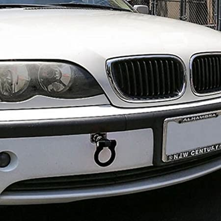 Blau,Schwarz MRCARTOOL Abschlepphaken Abschlepp/öse Haken Aluminium Alloy Tow Hook f/ür BMW mit Drei Farbe-Rot Blau
