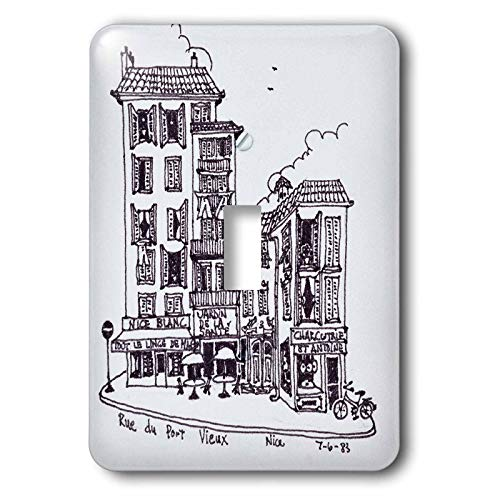 3dRose Danita Delimont - France - Rue du Port Vieux in Nice, France - 2 plug outlet cover (lsp_313147_6)