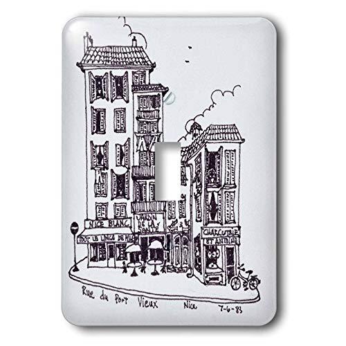 Vieux Port - 3dRose Danita Delimont - France - Rue du Port Vieux in Nice, France - 2 plug outlet cover (lsp_313147_6)