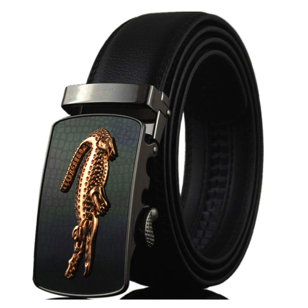Mens Genuine Leather Belts Luxury Ceinture Homme Luxe Marque Automatic