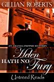 Front cover for the book Helen Hath No Fury by Gillian Roberts