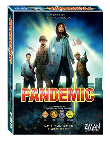 Pandemic (Best Board Games For 8 Year Olds)
