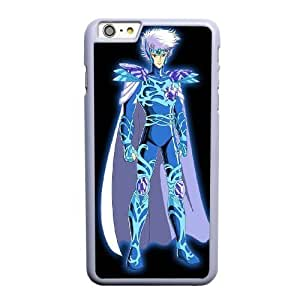 Generic Fashion Hard Back Case Cover Fit for iPhone 6 6S plus 5.5 inch Cell Phone Case white KnightsoftheZodiac SaintSeiya FEW-7900973