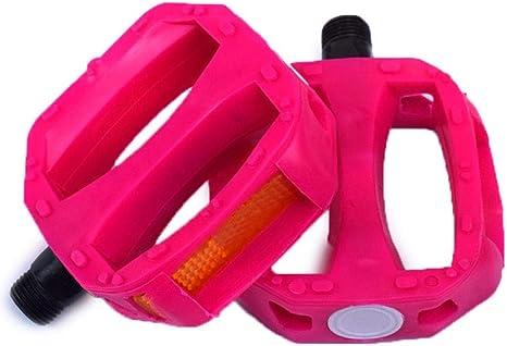 WANGDANA Accesorios para Pedales de Bicicleta Plástico Plegable ...