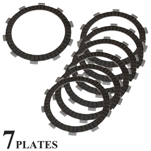 Caltric CLUTCH FRICTION PLATE Fits HONDA CMX450 CMX450C CMX-450-C REBEL 1986-1987 MOTORCYCLE PLATES by Caltric