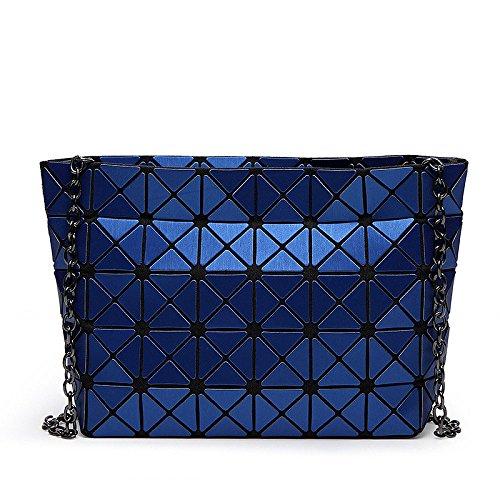 Bandoulière Rhombique à Japonais AJLBT Sac Style Bandoulière Blue Sac Mat à qwnwcCWIEO