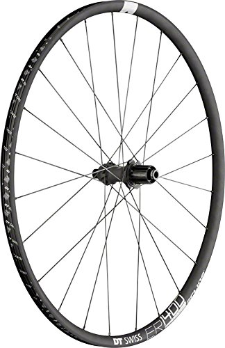 DT Swiss ER1400 db21 Spline Rear Wheel: 700c, 12x142mm, Centerlock Disc