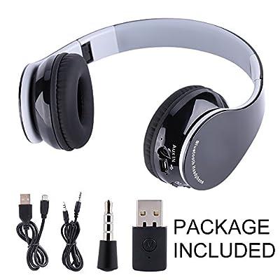 VBESTLIFE Cuffie Bluetooth Wirless Cuffie Stereo Senza Fili Bluetooth 4.2 Auricolare Wireless da Gioco Auricolare Stereo HiFi Pieghevole 4.1 per PS4