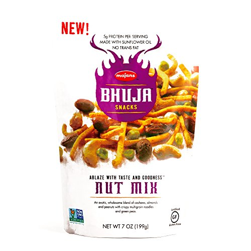 Bhuja Snacks Nut Mix 7 oz each (1 Item Per Order) (Bhuja Mix Nut)
