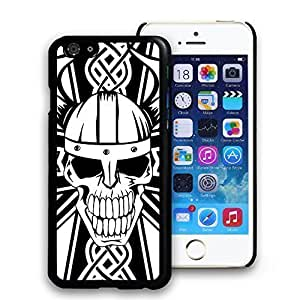 Angry Skull Hard Plastic Pattern Back Case Cover Skin for iphone 6 Plus 5.5 Inch