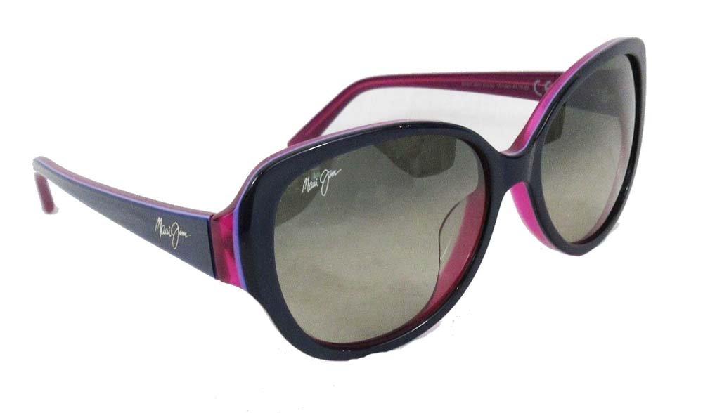 Maui Jim - Swept Away - Blue With Raspberry Interior Frame-Neutral Grey Polarized Lenses