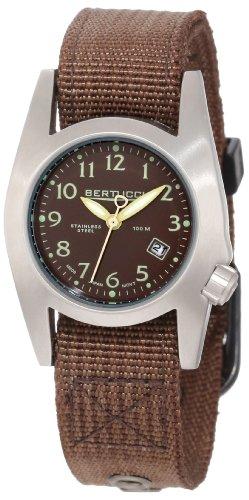 Bertucci Women's 18006 M-1S Durable Stainless Steel Field Watch