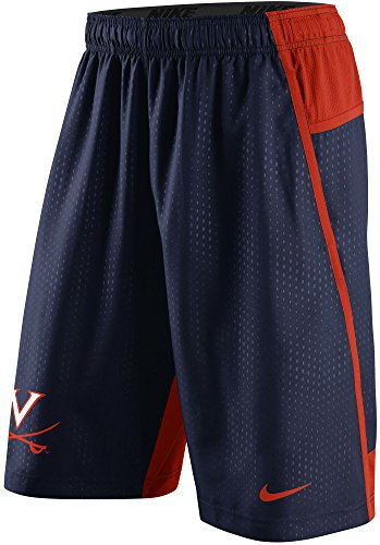 Nike Virginia Cavaliers Men's Fly XL 3.0 Dri-FIT Training Shorts (3XL, Navy Blue) - Bags College Nike