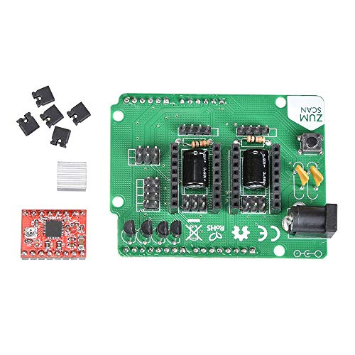 3D Scanner Board Kit Ciclop Expansion Board with A4988 UNO Controller Accessories for 3D Printer Electronic DIY kit - (Size: Type 1) by GIMAX (Image #4)