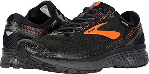 Brooks Men's Ghost 11 GTX Black/Orange/Ebony 11 D US from Brooks