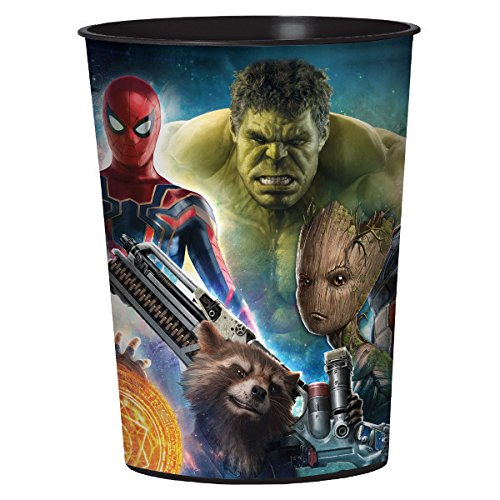 Marvel Avengers Infinity Wars Plastic 16 oz. Party Cup - ST (Wars Cups)