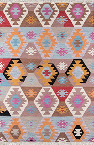 Momeni Rugs Caravan Collection, 100% Wool Hand Woven Transitional Area Rug, 2