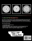 Adult Coloring Book: 50 Stress Reliefing Mandalas