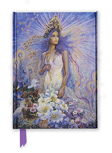 Josephine Wall Virgo (Foiled Journal) (Flame Tree Notebooks) (Tapa Dura)