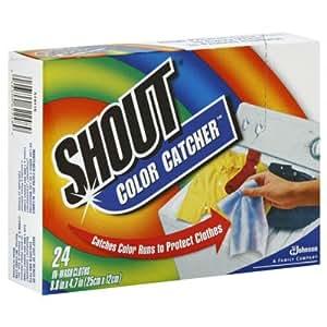 Johnson Wax 62248 Shout Color Catcher - Case of 12