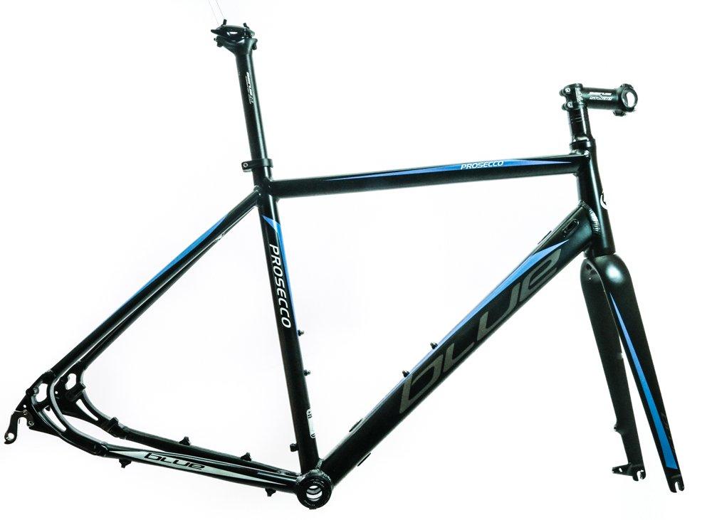 BLUE Prosecco Disc Cyclocross Gravel Endurance Road Bike Frame XXS 49cm NEW BLEM