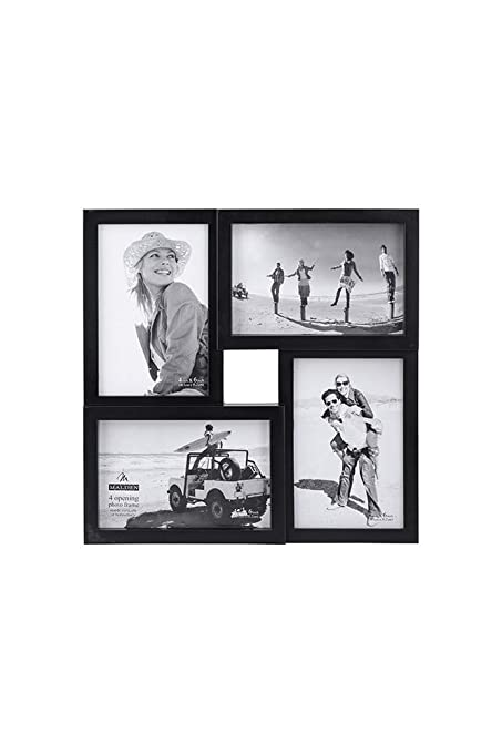 Amazon.com - Malden 4x6 4-Opening Matted Collage Picture Frame ...