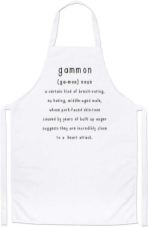 Gammon Definition Brexit Chefs Apron