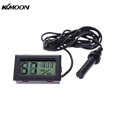 AMZVASO - Mini LCD Digital thermometer Humidity Hygrometer termometro digitale thermometre weather station temperature Diagnostic-