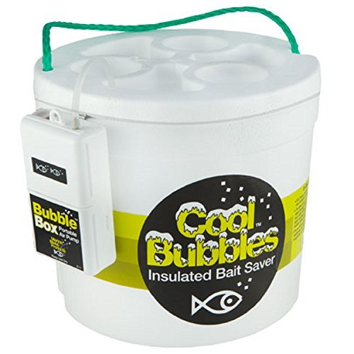 Marine Metal 4014320 Products CB - 11 Cool Bubbles 8 - qt. Foam Bucket & Pump - Bucket Quart Bait 8