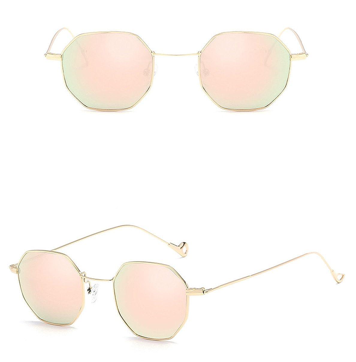 Donna Uomo Moda Metal Irregolarit/à Retro Quadrato Occhiali Da Sole,Unisex Adulto Sunglass Per regalo