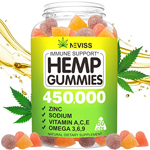Vegan-mp-Gummis-for-Pain-Anxiety-Stress-Inflammation-Relief-Sleep-Relaxing-Calm-Mood-Support-100-Natural-Organic-Hmp-Infused-Gummis-450000-60-cts-Hmp-Big-Gummis-Made-in-USA