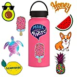 Stickers for Water Bottles Cool Sticker, Water Stickers Bottles Big Cute Waterproof Aesthetic Trendy Stickers for Teens Perfect for Laptop,Phone,car,Skateboard (45X45CM, Multicolor)