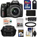 Pentax K-70 All Weather Wi-Fi Digital SLR Camera & 18-55mm AL WR Lens with 32GB Card + Battery + Case + Kit