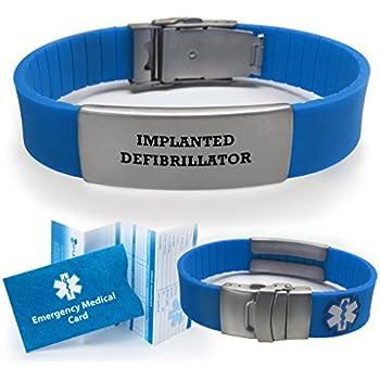 Amazon Com Implanted Defibrillator Medical Alert Id