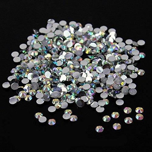 10,000pc bulk 3mm 10ss AB Crystal Loose Rhinestone Hot Fix by ThreadNanny