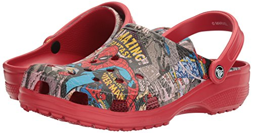 Pictures of Crocs Unisex Classic Spiderman Clog Mule 14 M US 4